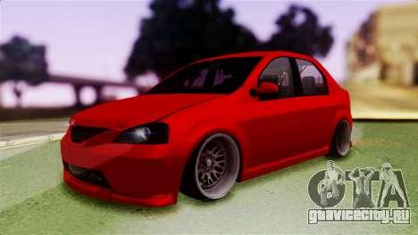 Dacia Logan Kys для GTA San Andreas