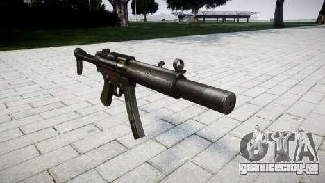 Пистолет-пулемёт MP5SD RO FS для GTA 4