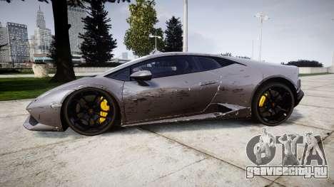 Lamborghini Huracan LP 610-4 2015 для GTA 4 вид слева