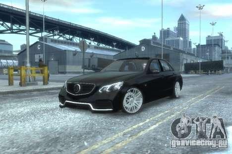 Mercedes-Benz E63 BRABUS 850 для GTA 4 вид слева