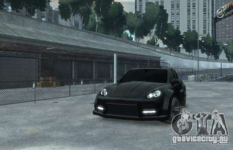 Porsche Cayenne 2012 GT для GTA 4 вид справа
