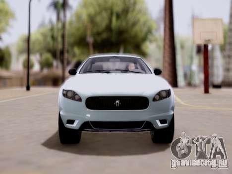 GTA V Ocelot Jackal для GTA San Andreas вид сзади слева