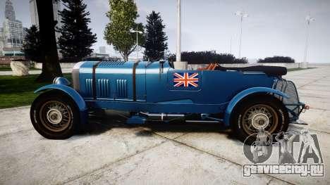 Bentley Blower 4.5 Litre Supercharged [high] для GTA 4 вид слева