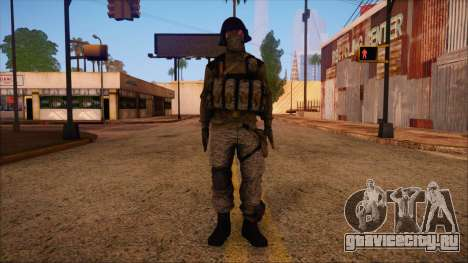 Recon from Battlefield 3 для GTA San Andreas