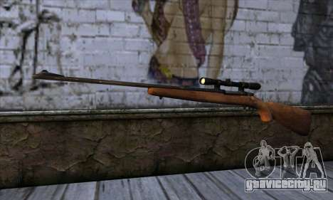 Sniper Rifle from The Walking Dead для GTA San Andreas