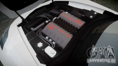 Chevrolet Corvette C7 Stingray 2014 v2.0 TireMi3 для GTA 4 вид сбоку
