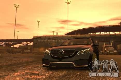 Mercedes-Benz E63 BRABUS 850 для GTA 4 вид сбоку
