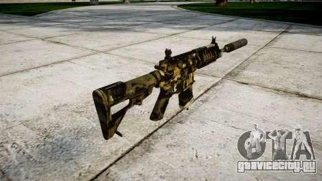 Автомат P416 silencer PJ2 для GTA 4 второй скриншот