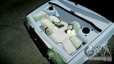ВАЗ-2109 бродяга для GTA 4 вид изнутри