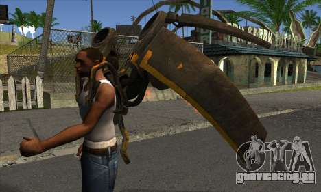 Jetpack from Batman Arkham Origins для GTA San Andreas второй скриншот