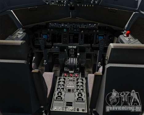 Boeing 737-800 Southwest Airlines для GTA San Andreas салон
