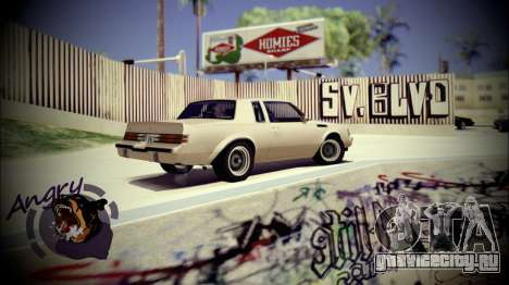 Skate Park для GTA San Andreas третий скриншот