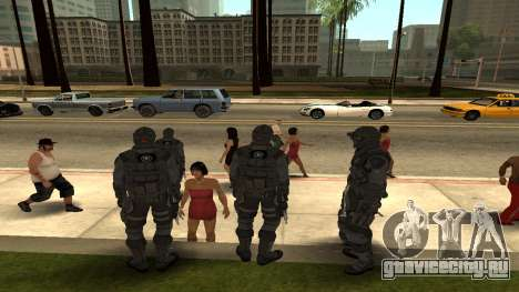 Skin Third Echelon для GTA San Andreas третий скриншот