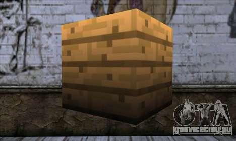 Блок (Minecraft) v11 для GTA San Andreas второй скриншот