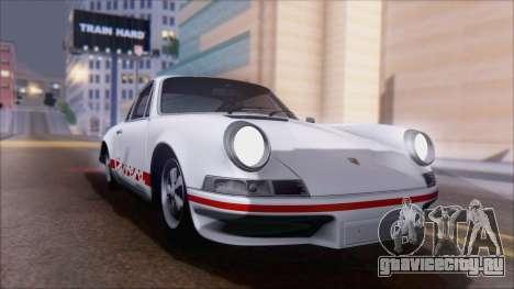 Porsche 911 Carrera 1973 Tunable KIT A для GTA San Andreas вид справа