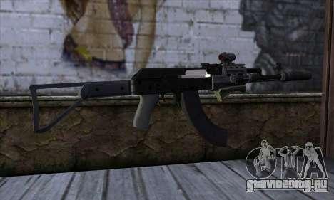 Assault Rifle from GTA 5 для GTA San Andreas второй скриншот
