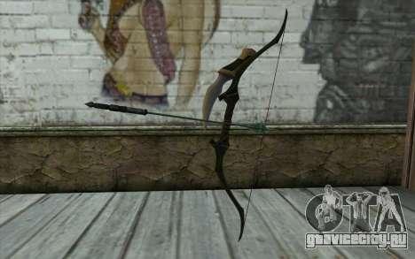 Green Arrow Bow v1 для GTA San Andreas