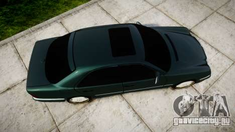 Mercedes-Benz W210 E55 2000 AMG для GTA 4 вид справа