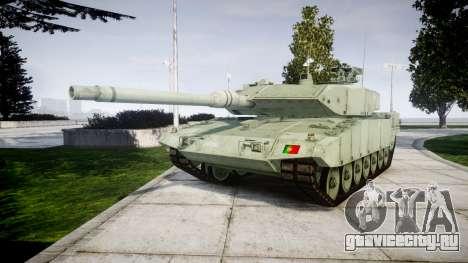 Leopard 2A7 PT Green для GTA 4