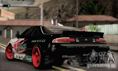 Nissan Silvia S14 Zenki Matt Powers для GTA San Andreas вид слева