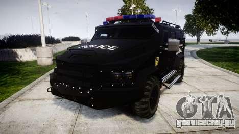 SWAT Van [ELS] для GTA 4
