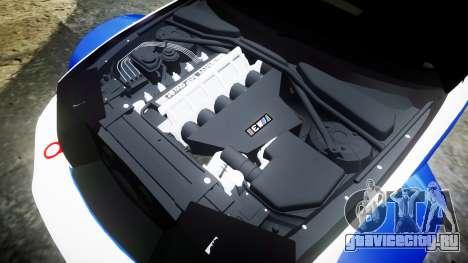 BMW M3 E46 GTR Most Wanted plate NFS для GTA 4 вид сбоку