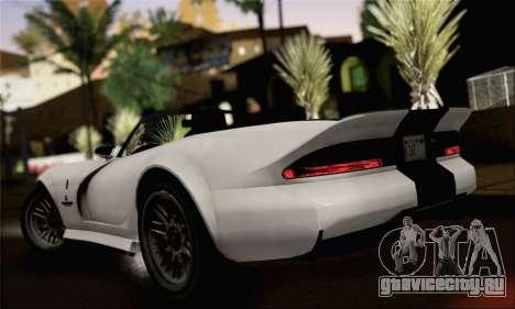 GTA 5 Bravado Banshee (IVF) для GTA San Andreas вид слева
