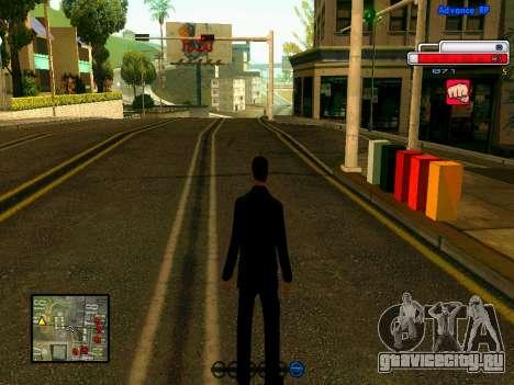 Ped.ifp v2 для GTA San Andreas шестой скриншот