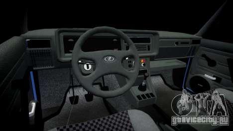 ВАЗ-2107 ламбо для GTA 4 вид сзади