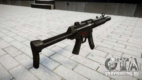 Пистолет-пулемёт MP5SD RO FS для GTA 4 второй скриншот