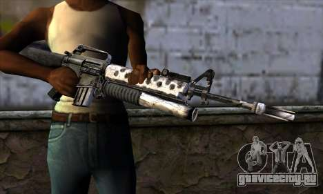 M4 from Call of Duty: Black Ops v2 для GTA San Andreas третий скриншот
