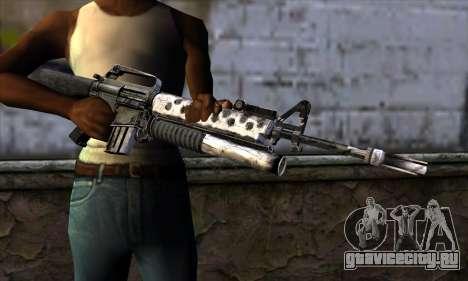 M4 from Call of Duty: Black Ops v2 для GTA San Andreas третий скриншот