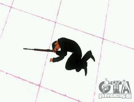 Ped.ifp v2 для GTA San Andreas пятый скриншот