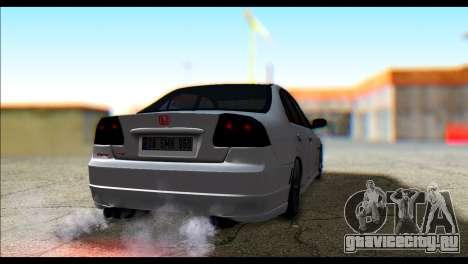 Honda Civic VteC для GTA San Andreas вид слева