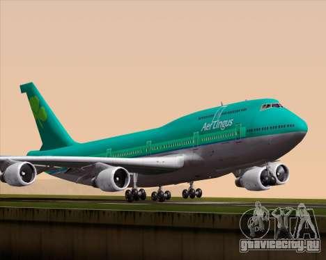 Boeing 747-400 Aer Lingus для GTA San Andreas
