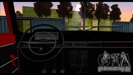 Tofas Murat 124 для GTA San Andreas вид сзади слева