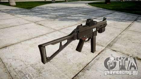 Немецкий пистолет-пулемёт HK UMP 45 для GTA 4 второй скриншот