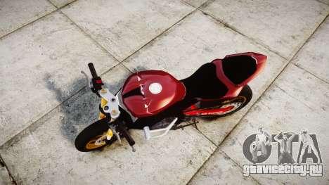Yamaha YZF-R6 Stunt для GTA 4 вид справа
