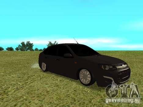 Lada Granta Kalina 2 для GTA San Andreas