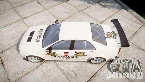 Albany Presidente Racer [retexture] Pibwasser для GTA 4 вид справа