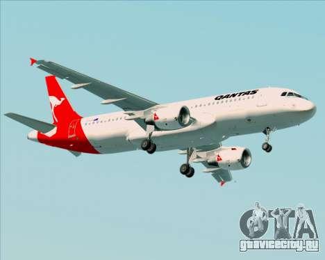 Airbus A320-200 Qantas для GTA San Andreas