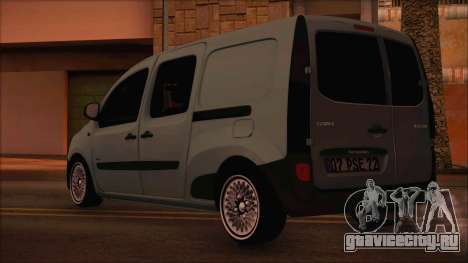Mercedes-Benz Citan Stock 2013 для GTA San Andreas вид слева