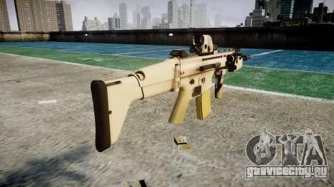 Автомат FN SCAR-L Mk 16 icon3 для GTA 4 второй скриншот