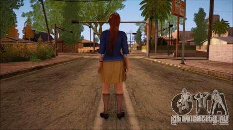 Modern Woman Skin 9 v2 для GTA San Andreas второй скриншот