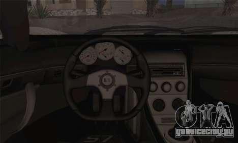 Saleen S7 Twin Turbo для GTA San Andreas вид сзади слева