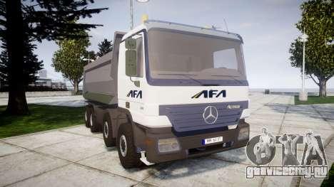 Mercedes-Benz Actros AFA для GTA 4