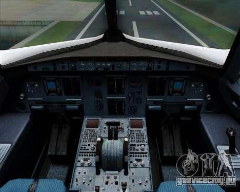 Airbus A320-200 Qantas для GTA San Andreas салон