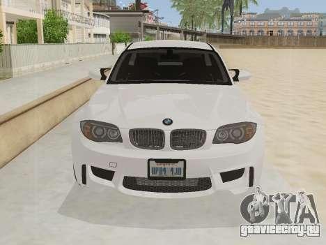 BMW 1M 2011 для GTA San Andreas вид слева