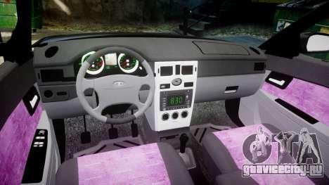 ВАЗ-21728 LADA Priora Coupe для GTA 4 вид изнутри
