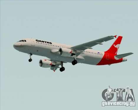 Airbus A320-200 Qantas для GTA San Andreas колёса